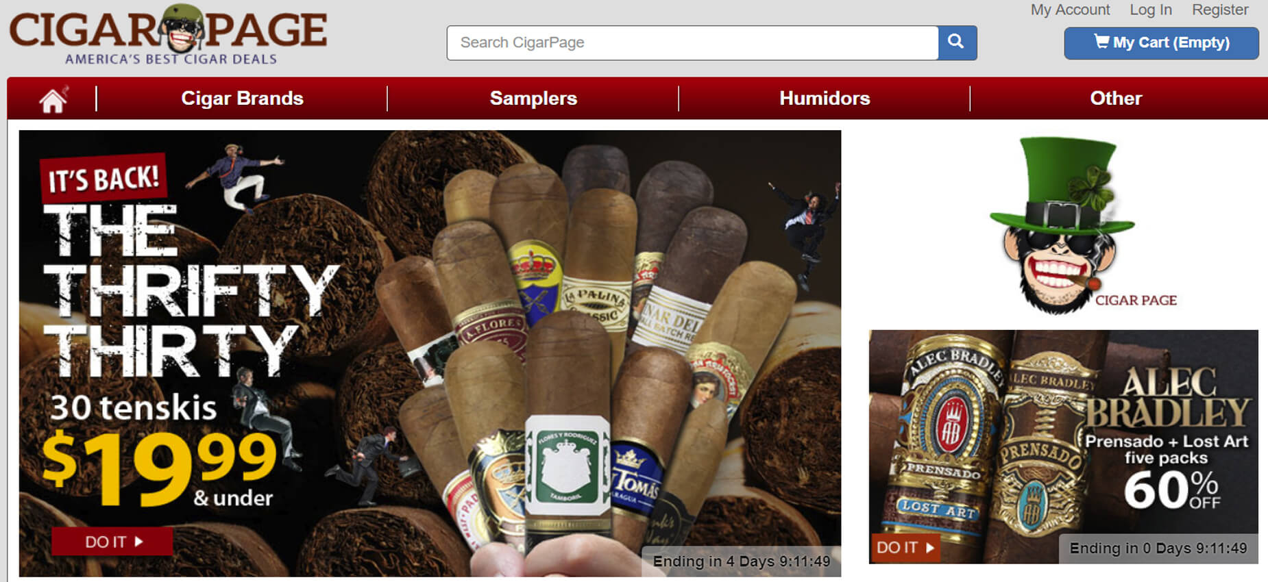 cigarpage Affiliate Program